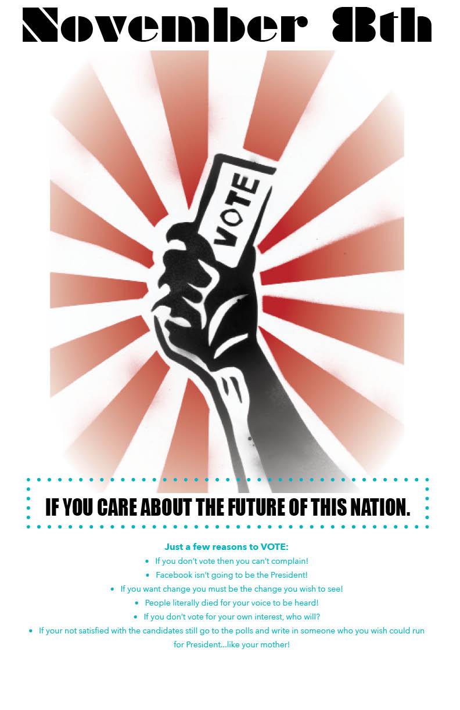 2016 Presidential Election Poster Design Elevatedailyy